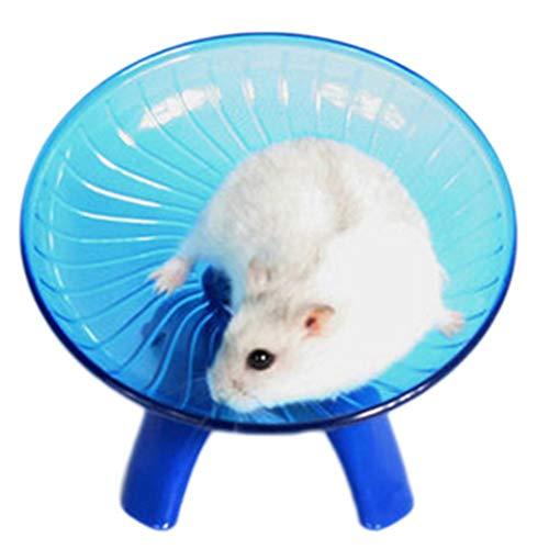 PetKids Hamster-Übungsscheibe für Degus, Spielzeug mit Halterung aus Edelstahl, Kunststoff,...