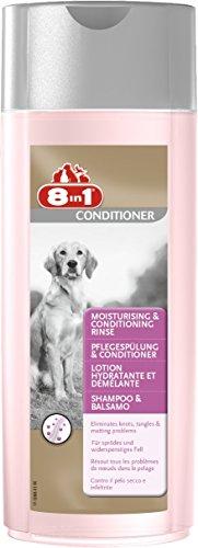 8in1 Pflegespülung und Conditioner für Hunde (für sprödes und widerspenstiges Hundefell), 250 ml...