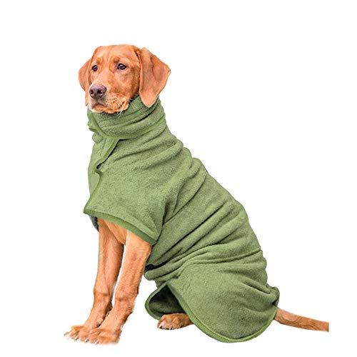 HAPPY HACHI Mikrofaser Hund Bademantel Waschbare Katze Schnell trocknend Badetuch Super Absorbent Pet...