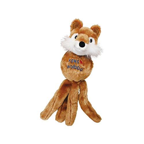 KONG – Wubba Friends – Quietschendes Apportierspielzeug (Verschiedene Figuren) – Für Kleine Hunde