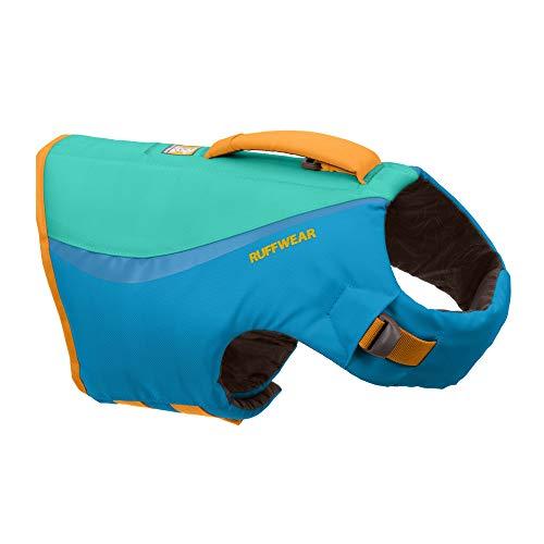 Ruffwear Schwimmweste für Hunde, bietet Sicherheit beim Schwimmen, Bootfahren, Wassersport, Blue Dusk,...