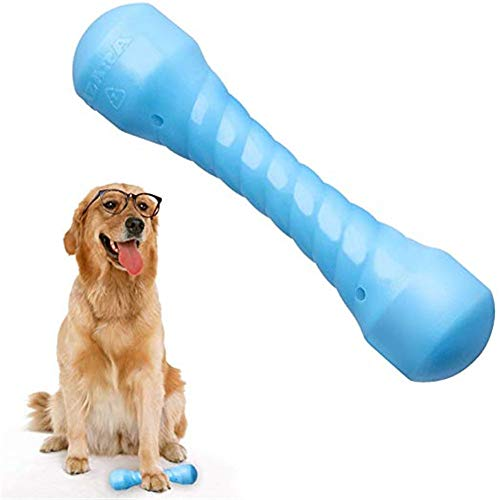 SUOLEITE Puppy Chew Toys für Aggressive Kauer, langlebig Dog Chew Bones Robust dauerhafte Gummi Dog Chew...