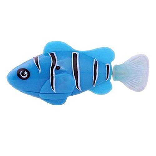 TENGGO Swim Electronic Robofish Aktiviert Batterie Powered Robo Pet Spielzeug Fisch Robotic Pet Für...