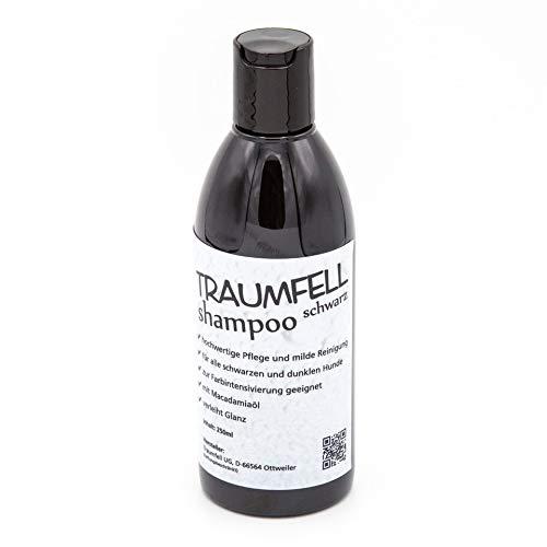 Hundeshampoo Shampoo schwarz - Premium intensiven Look