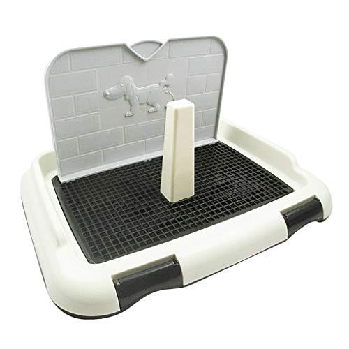 Amuzocity Hundetoilette Hunde WC Haustier Toilette Hundeklo Welpenklo Welpentoilette für Indoor Outdoor...