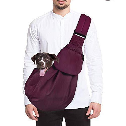 Lukovee Hundetragetasch, Tragetuch Hund Haustiere Single-Schulter Schleuderträger Verstellbare...