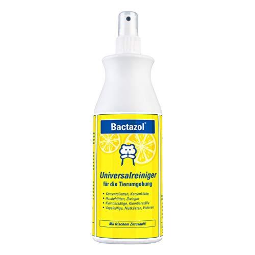 Bactazol Universalreiniger 500ml - Mit frischem Zitrusduft für Hunde, Katzen, Kleintiere & Vögel