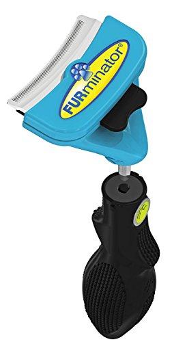 FURminator FURflex, Fellpflegebürste für mittelgroße Hunde, deShedding-Tool zur Entfernung der...
