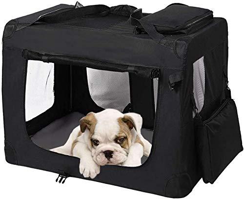 Zedelmaier Faltbare Hundebox Transportbox Hundekäfig mit verschiedenen Größen und Farben (S - 50 x 35...