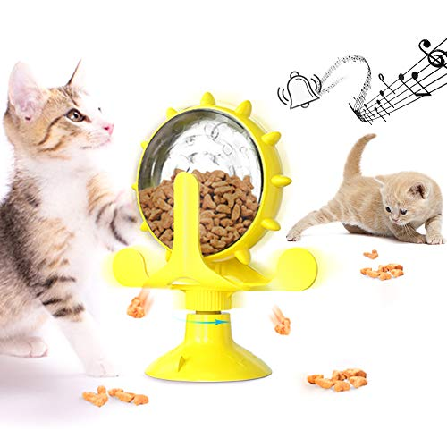 Windmühle Katzenspielzeug, Interaktives Katzenspielzeug, Katze undichtes Spielzeug,...