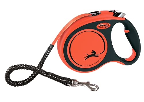 flexi Rollleine Xtreme - Tape Leash Orange - L