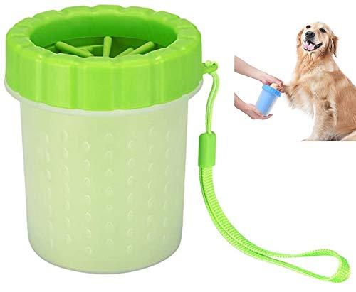 Hundepfoten-Reiniger, tragbarer Haustier-Reinigungsbürste, bequemes Silikon für die Reinigung von...