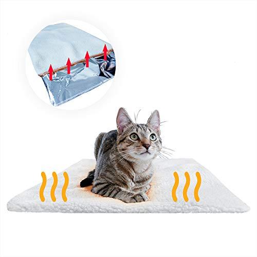 PiuPet® Premium Selbstheizende Decke für Katzen & Hunde, Größe: 60x45cm, Innovative &...