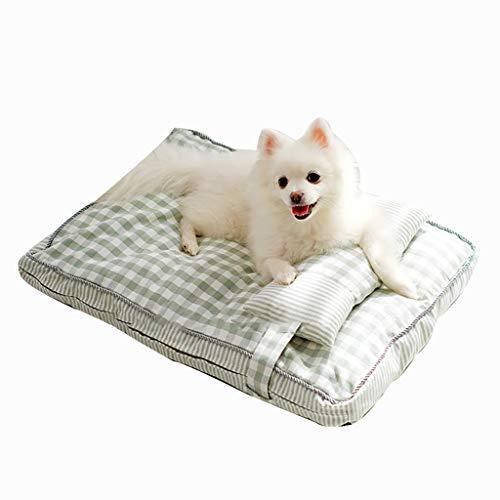 Hundebett / Haustierbett für Hunde und Katzen, klein, mittelgroß, flauschiges Sofa, Couchkissen, Decke,...