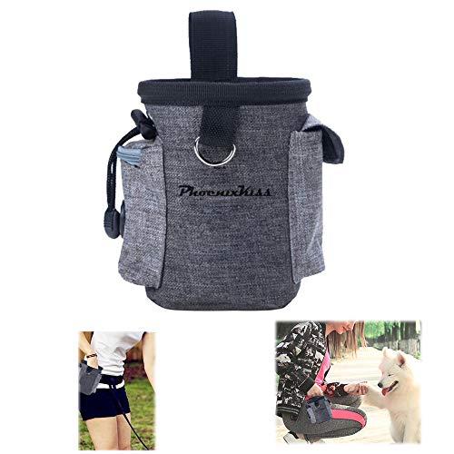 Futtertasche für Hunde, Snackbeutel hunde,futtertasche,leckerlibeutel für hunde,leicht zu tragendes...