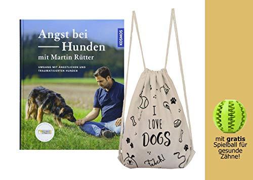 YellowMedia Angst bei Hunden - mit Martin Rütter + stylischer Beutel & gratis Hunde-Spielball für...