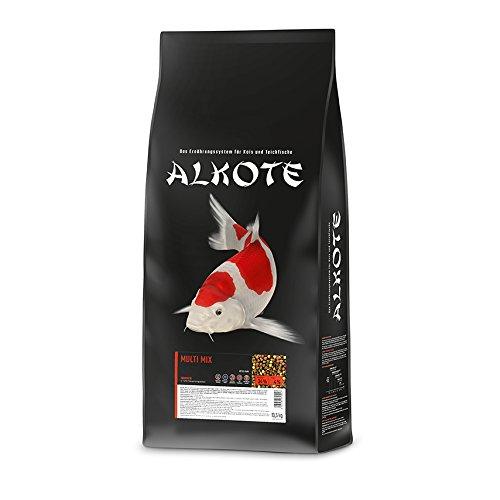 AL-KO-TE, 1-Jahreszeitenfutter für Kois, Sommermonate, Schwimmende Pellets, 6 mm, Hauptfutter Multi Mix,...