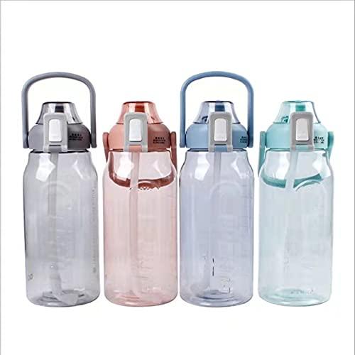 Fusong Wasserflasche Großraum-Wasserflasche Trinkflasche Sport-Trinkflasche Halbe Gallone Wasserflasche...
