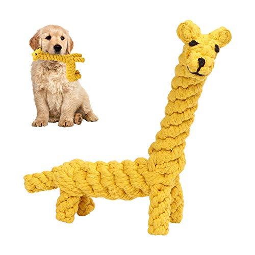 O-Kinee Haustier Kauspielzeug, Hundespielzeug, Hergestellt aus Natürlicher Baumwolle, Zahnreinigung für...