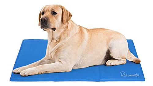 Pecute Kühlmatte Hunde Katzen(120*75 cm), Kuhlmatte für Hund und Katze mit Ungiftiges...