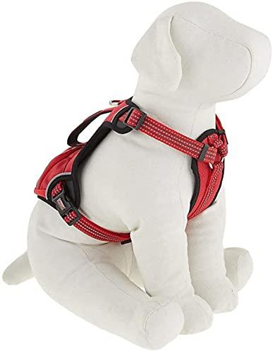 Freizeit-Hundegeschirr Verstellbarer Brustgurt-Anti-Zug-Hundegeschirr Atmungsaktives Welpengeschirr...