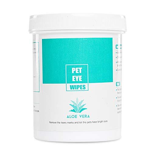 150 Stück Aloe Vera Augenpflege Reinigungspads für Katzen und Hunde