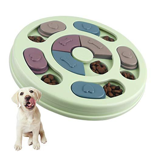 Elezenioc Hundespielzeug Intelligenz Hundefutter Welpenspielzeug,Verlangsamen Sie das Essen von...