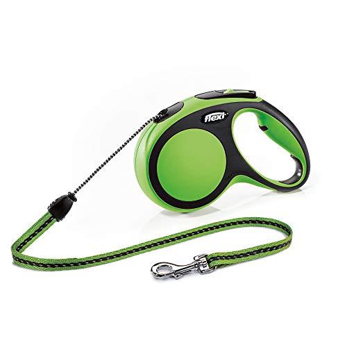 flexi New Comfort M Seil 8 m grün für Hunde bis 20 kg