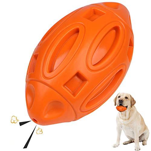 G.C Hund Kauspielzeug für Aggressive Kauer, Hundespielzeug Unzerstörbar Quietschspielzeug Hund zur...