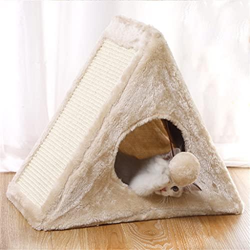 AYDQC Plüschkissenabdeckungen Zelt Haus Kissen Haustierhaus für Katzen Produkte für Haustiere Dinge...