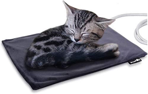 Pecute Haustier Heizkissen Heizmatte für Hund Katze Wärmematte Konstante Temperatur Sicher und...