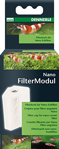 Dennerle 5845 Nano Filtermodul - Filterkorb für Nano Eckfilter und Nano Eckfilter XL