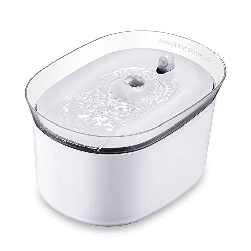 honeyguaridan automatischer Smart Haustier Wasserbrunnen mit Infraroterkennung, Haustier trinkbrunnen...