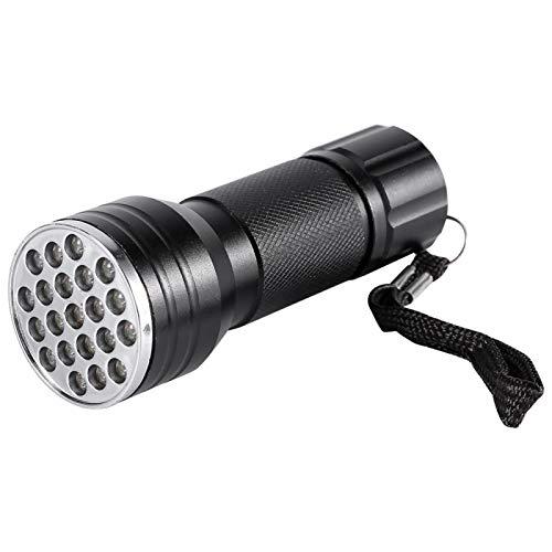 -Taschenlampen, leichtes Detektor-Schwarzlicht für Camping zur Überprüfung von Leuchtstofffarben