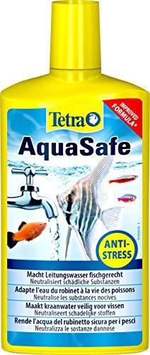 Tetra AquaSafe (Qualitäts-Wasseraufbereiter für fischgerechtes und naturnahes Aquariumwasser,...