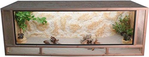 Tropic-Shop OSB Terrarium - Holzterrarium - Front aus massiven Fichtenhholzrahmen - Made In Germany !!...