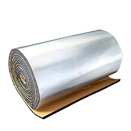 Vigcebit Isolierfolie Dämmfolie Alu-Luftpolsterfolie Dachisolierung 10MM Isolierungsfolie Wärmehaltung