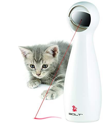 PetSafe Laser BOLT Katzenspielzeug, Elektrisches Katzenspielzeug, Automatischer Laserpointer,...