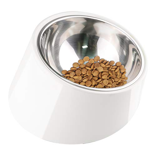 SuperDesign Food Bowl Especially Suitable for Dog Squashed Nose or Amblyopia, 1 Pack