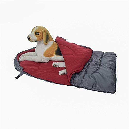 SYQY Im Freien wasserdicht Verschleißfester Hundeschlafsack Haustier Daunenbett Bettbezug Haustier Bett...