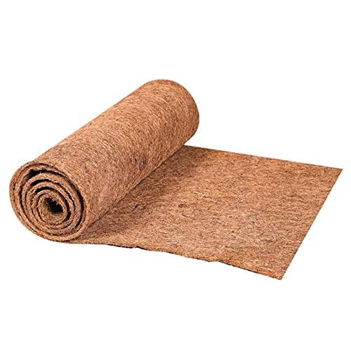 Ukuding Kokos-Filzmatte, Kokosmatte, Coco Liner Sheet Kokosnusspalmenmatte Schneidbare Bodenmatte...