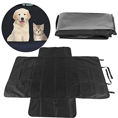 Auto-Haustierunterlage, Hängemattendesign Verschleißfester Autositzschutz Haustiersitzbezug...