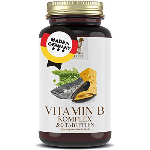 SANKT LUKE 280x Vitamin B Komplex Hunde Katzen, 6 bis 12 Monate Vorrat, Hochdosierte Vitamine für jedes...