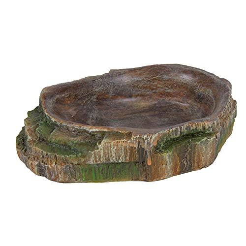 Trixie 76201 Wasser- und Futterschale für Reptilien, 10 × 2,5 × 7,5 cm
