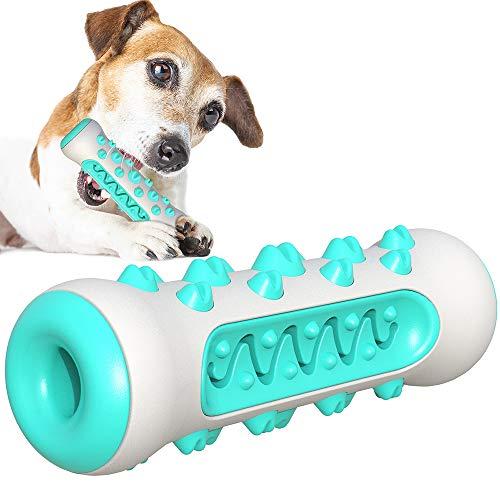 Zahnbürsten-Stick, Ungiftig Kauspielzeug für Hunde, Welpen, Zahnpflege, Bürstenspielzeug, effektive...
