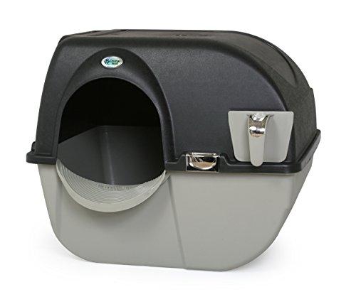 Omega Paw Elite Roll 'n Clean Selbstreinigende Katzentoilette – Regular