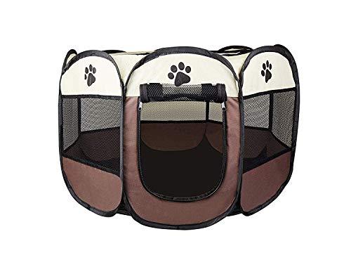 Cosy Life Welpenlaufstall für Hunde Wohnung/Tierlaufstall für Kleintiere / 65 x 65 x 44 cm