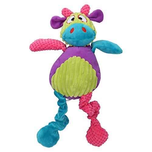 Rosewood 39141 Plüsch-Spielzeug für Hunde Kuh Kunigunde