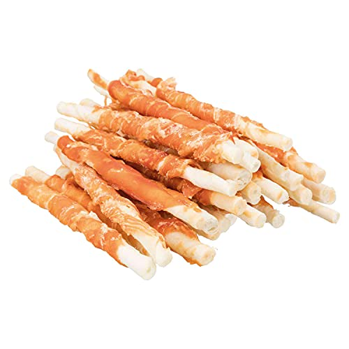 Trixie 31378 Denta Fun Chicken Chewing Rolls, 12 cm, 30 St./240 g