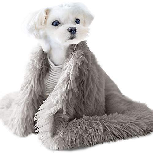 wenyujh Hundedecke Plüsch Flauschige Decken Haustierdeck rutschfeste Fleece Katzendecke Super Softe...